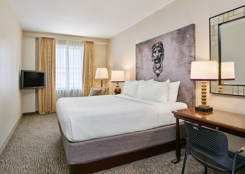 Astor Crowne Plaza French Quarter - King Guestroom in the hotel's Alexa Tower <br/>Image from Leonardo