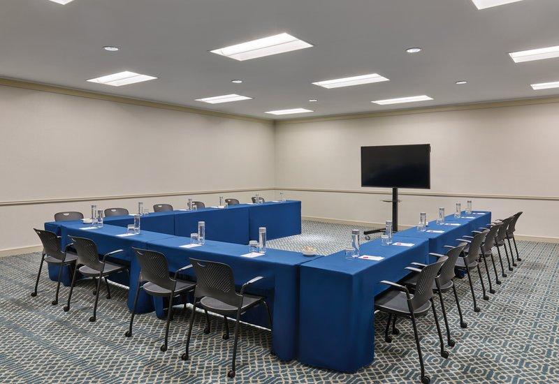 Astor Crowne Plaza French Quarter - The Iberville Room shown in u-shape setup. <br/>Image from Leonardo