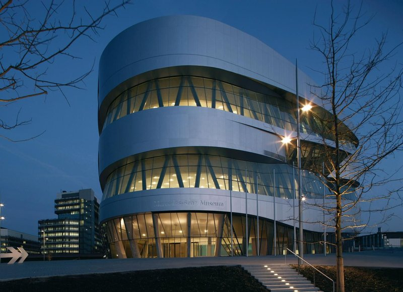 Holiday Inn Stuttgart-Mercedes-Benz Museum<br/>Image from Leonardo