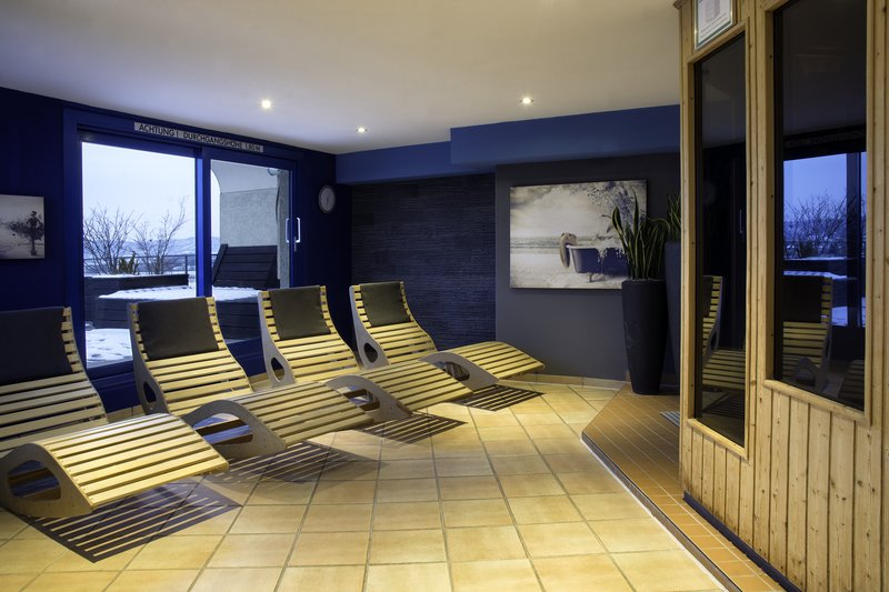 Holiday Inn Stuttgart-A Holiday Inn on-site sauna, the perfect spot to unwind.<br/>Image from Leonardo