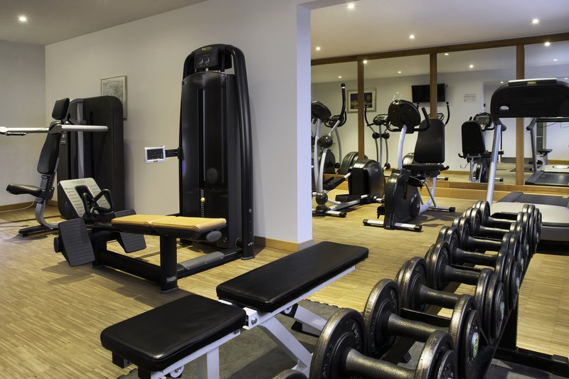 Holiday Inn Stuttgart-Free weights and resistance machines in the on-site gym.<br/>Image from Leonardo