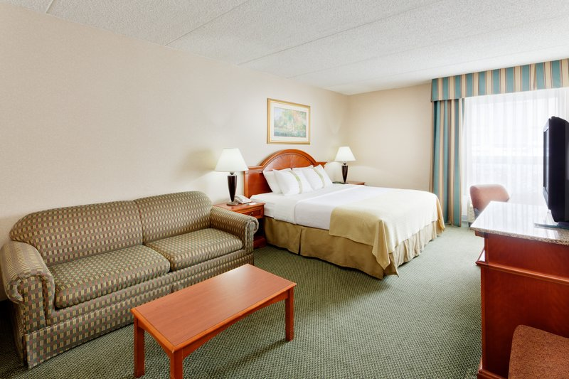 Holiday Inn Utica-Stay in our King room with sofa while visiting Special Metals <br/>Image from Leonardo