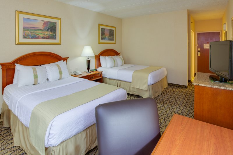 Holiday Inn Utica-Two Queen Bed Guest Room - Great for families visiting Cooperstown<br/>Image from Leonardo