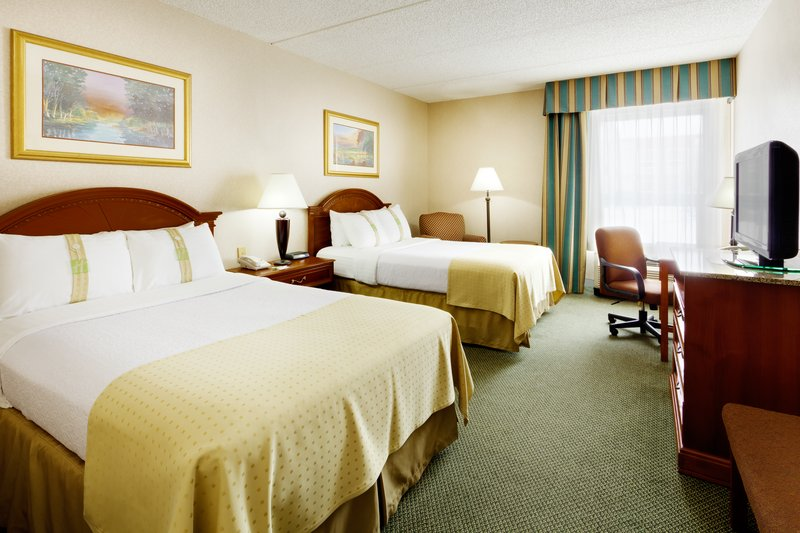 Holiday Inn Utica-Double Bed Guest Room - Great for families visiting Cooperstown<br/>Image from Leonardo