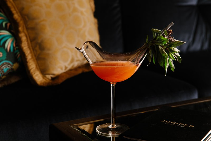 Park MGM Las Vegas - Juniper Cocktail Lounge Drink <br/>Image from Leonardo