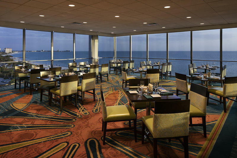 Lido Beach Holiday Inn-Rooftop Dining at Sand Dollar<br/>Image from Leonardo