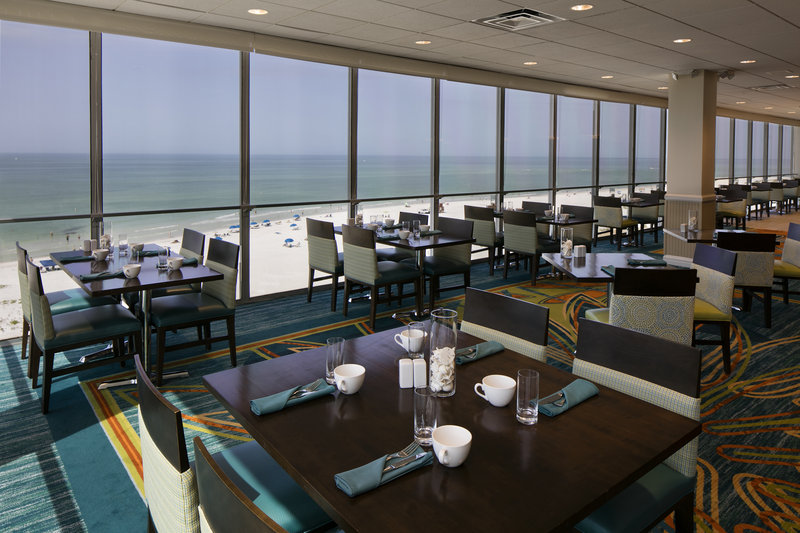 Lido Beach Holiday Inn-Roof top dining at Sand Dollar<br/>Image from Leonardo