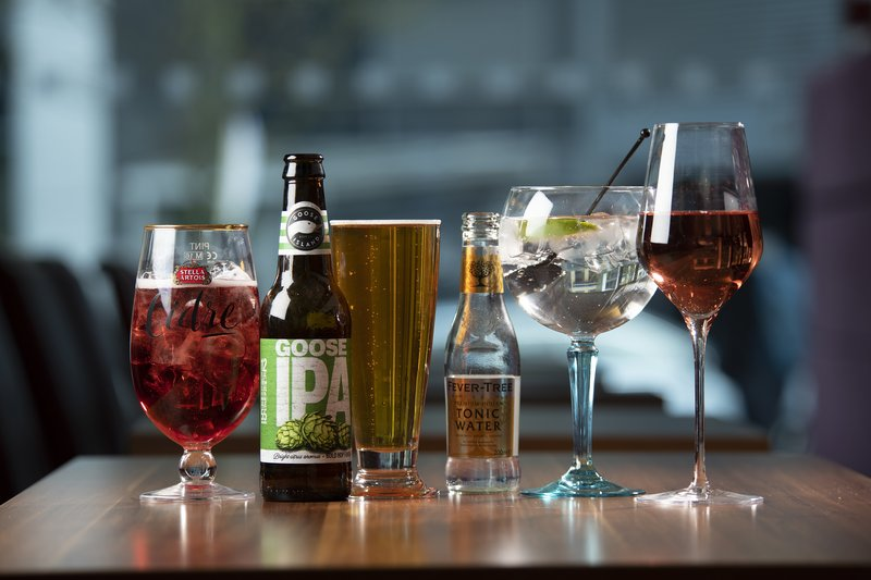 Holiday Inn Express Newcastle City Centre-Choose your favourite tipple from our bar menu<br/>Image from Leonardo