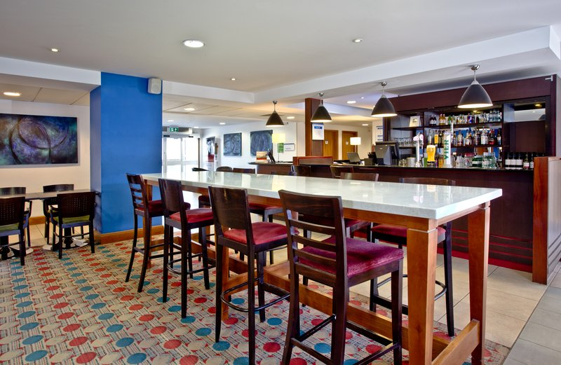 Holiday Inn Express Shrewsbury-Relax with a drink at our casual Bar enjoying the free WIFI<br/>Image from Leonardo