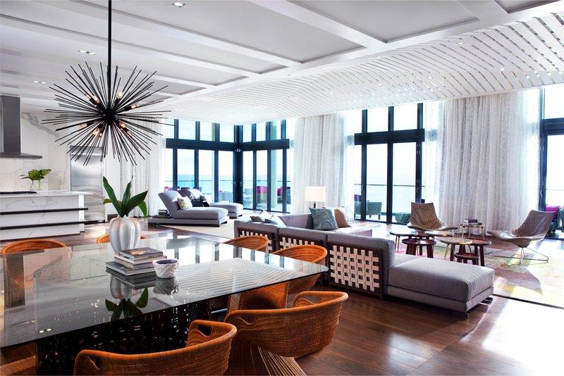 Kimpton Seafire Resort & Spa-Presidential Living Room<br/>Image from Leonardo