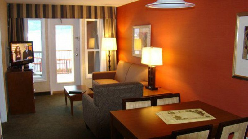 Holiday Inn Hotel & Suites Osoyoos-Holiday Inn Osoyoos 2 Bedroom Suite Living Area View<br/>Image from Leonardo