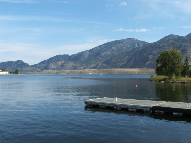 Holiday Inn Hotel & Suites Osoyoos-View from the North Side of the Resort<br/>Image from Leonardo
