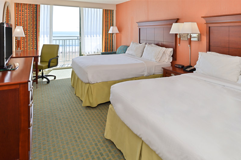 Holiday Inn Express And Suites Virginia Beach Oceanfront-Double Bed Guest Room<br/>Image from Leonardo