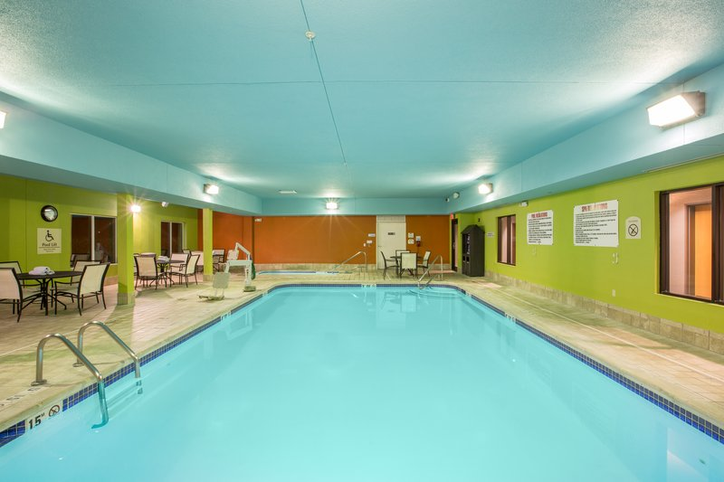Holiday Inn Express Hastings-Hot, cold or windy out? Our pool is always warm <br/>Image from Leonardo