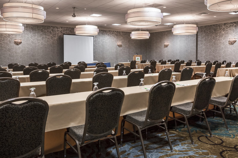 Holiday Inn Rock Island - Quad Cities-Get ready to learn with classroom style seating in Ballroom 2<br/>Image from Leonardo
