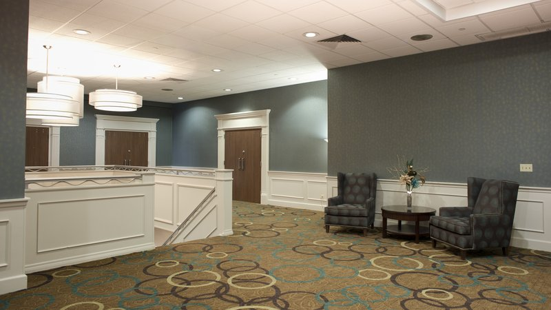 Holiday Inn Rock Island - Quad Cities-2nd Floor Mezzanine outside the Grand Ballroom<br/>Image from Leonardo