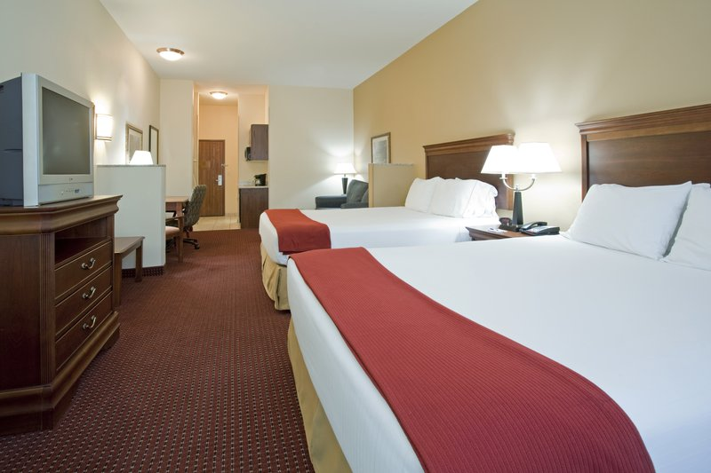 Holiday Inn Express & Suites Salt Lake City - Airport East-Two Queen Double Bed Room at our Salt Lake City Airport Hotel<br/>Image from Leonardo