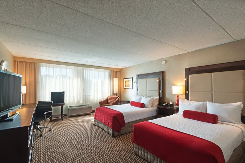 Crowne Plaza Boston - Woburn-Two Queen ADA Guest Room<br/>Image from Leonardo