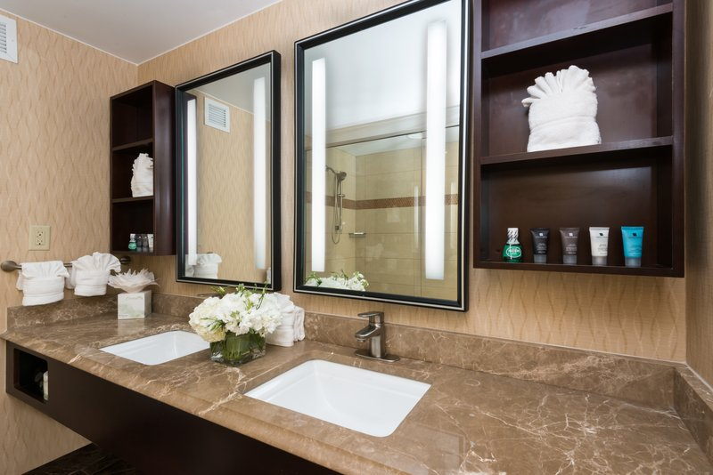 Crowne Plaza Boston - Woburn-Suite Guest Bath<br/>Image from Leonardo