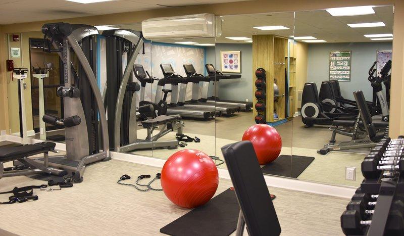 Crowne Plaza Boston - Woburn-Fitness Center<br/>Image from Leonardo