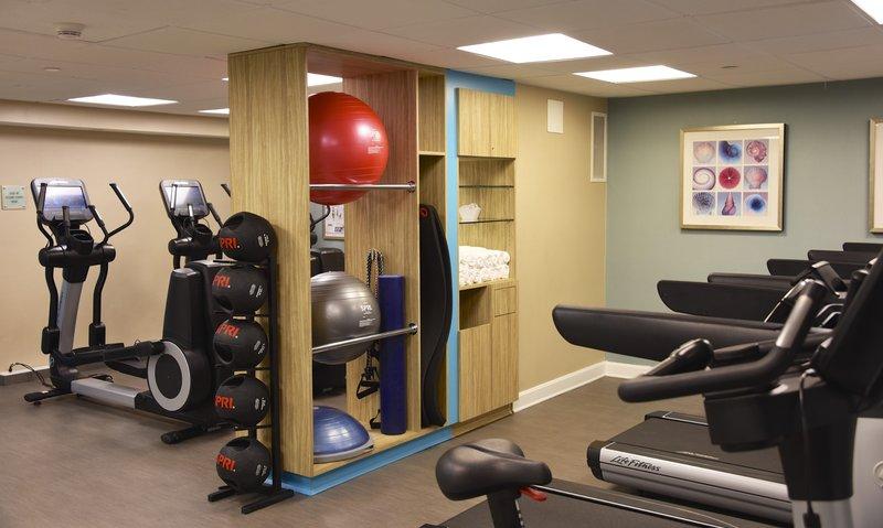 Crowne Plaza Boston - Woburn-New Fitness Center<br/>Image from Leonardo