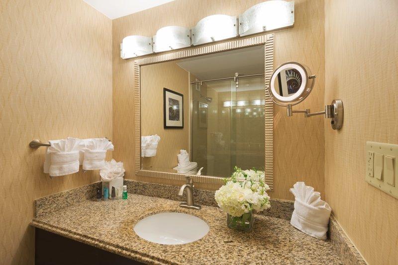 Crowne Plaza Boston - Woburn-Guest Bathroom<br/>Image from Leonardo