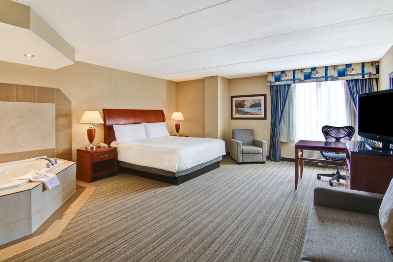 Hilton Garden Inn Toronto/Burlington, Ontario-King with whirlpool<br/>Image from Leonardo