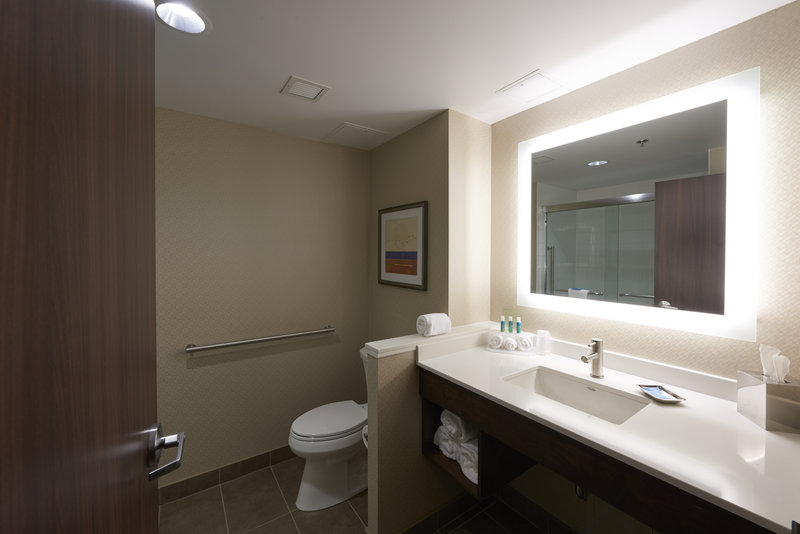 Holiday Inn Express & Suites St John's Airport-Holiday Inn Express & Suites St. John's Airport - Guest Washroom<br/>Image from Leonardo