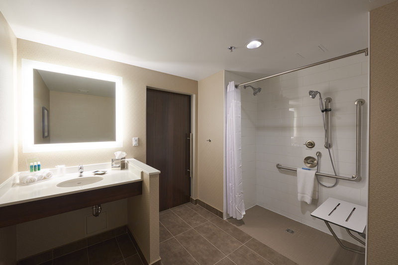 Holiday Inn Express & Suites St John's Airport-Holiday Inn Express & Suites St. John's Airport - Roll In Shower<br/>Image from Leonardo