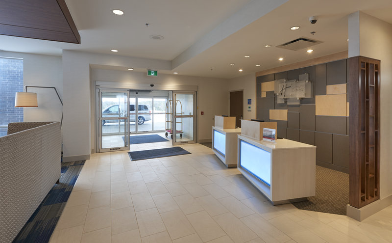 Holiday Inn Express & Suites St John's Airport-Holiday Inn Express & Suites St. John's Airport - Hotel Entrance<br/>Image from Leonardo