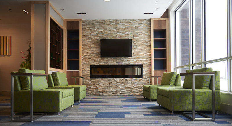 Holiday Inn Express & Suites St John's Airport-Holiday Inn Express & Suites St. John's Airport - Lobby Seating<br/>Image from Leonardo