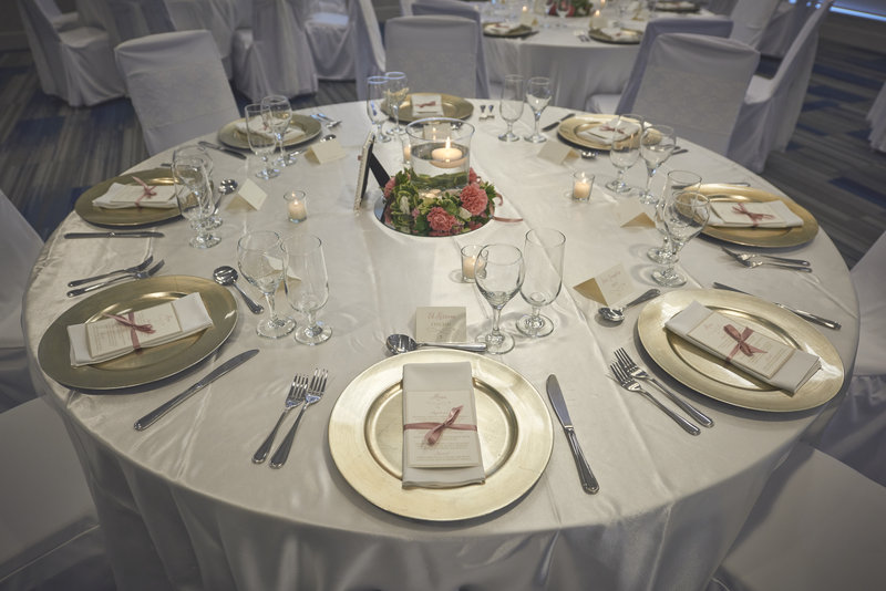 Holiday Inn Express & Suites St John's Airport-Holiday Inn Express & Suites St. John's Airport Wedding Set-up<br/>Image from Leonardo