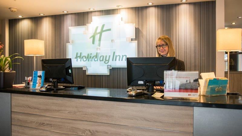 Holiday Inn Ellesmere Port/ Cheshire Oaks-Reception Desk<br/>Image from Leonardo