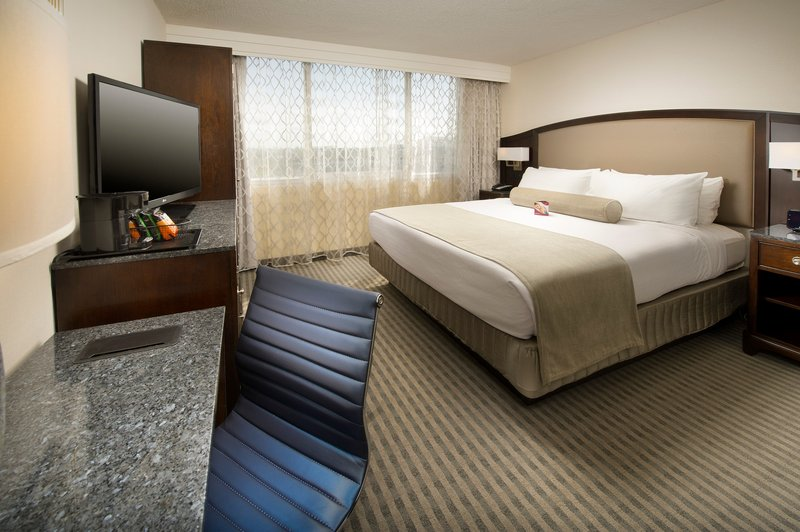 Crowne Plaza Seattle Airport-One King Bed Other Guest Room<br/>Image from Leonardo