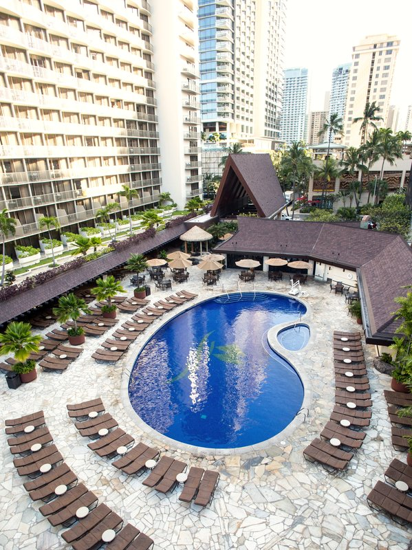 Outrigger Reef Waikiki Beach Resort - Outrigger Reef Waikiki Beach Resort Pool <br/>Image from Leonardo