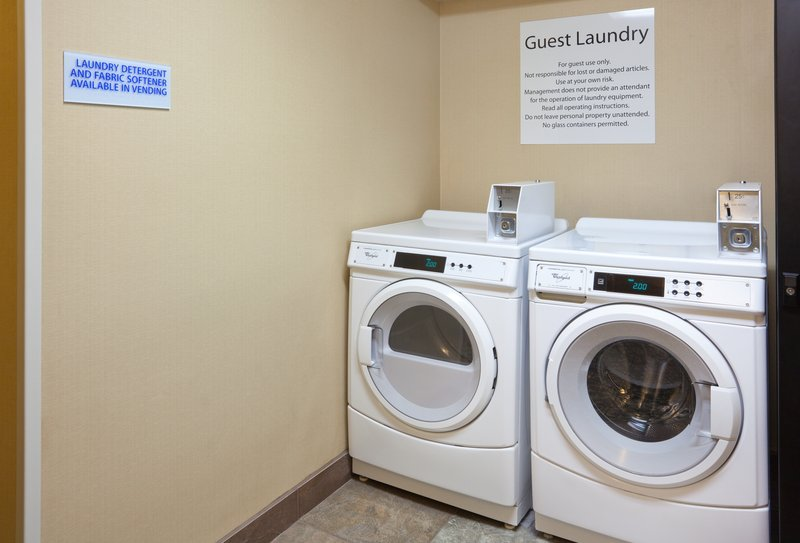 Holiday Inn Express Cedar Rapids (Collins Rd)-Guest Laundry for those staying longer.<br/>Image from Leonardo