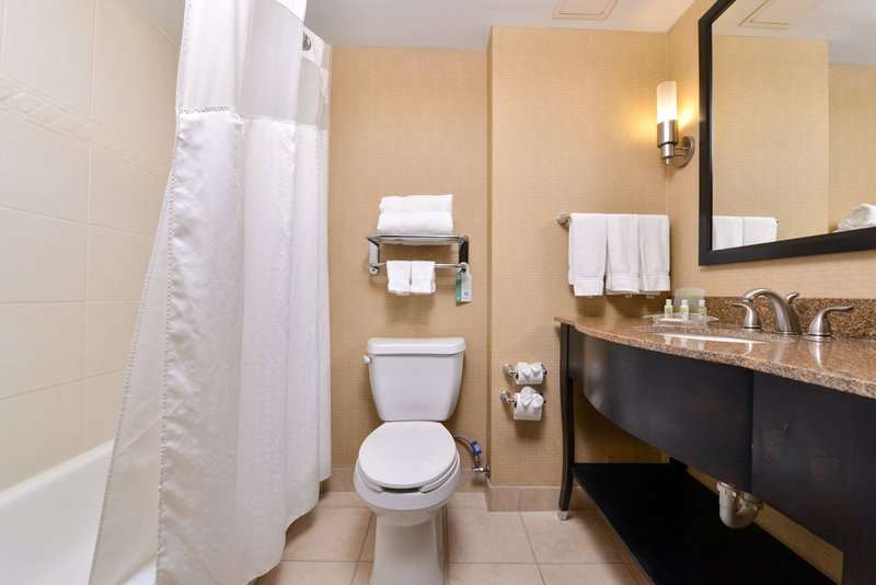 Holiday Inn Fort Worth North-Fossil Creek-Guest Bathroom<br/>Image from Leonardo