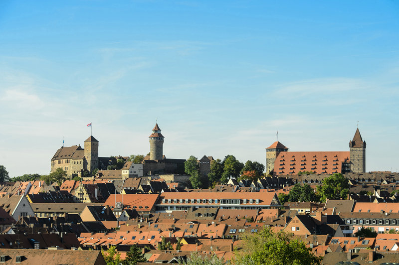 Holiday Inn Express Nuremberg City - Hauptbahnhof-The impressive Imperial Castle located 2 km from the hotel.<br/>Image from Leonardo