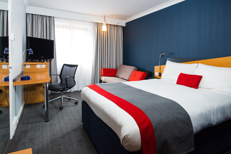 Holiday Inn Express Derby - Pride Park-Our rooms boast free Wi-Fi and a Freeview TV <br/>Image from Leonardo