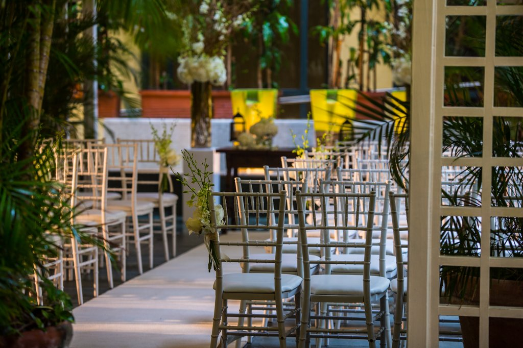 Hotel El Convento - Paoli Terrace Ceremony <br/>Image from Leonardo