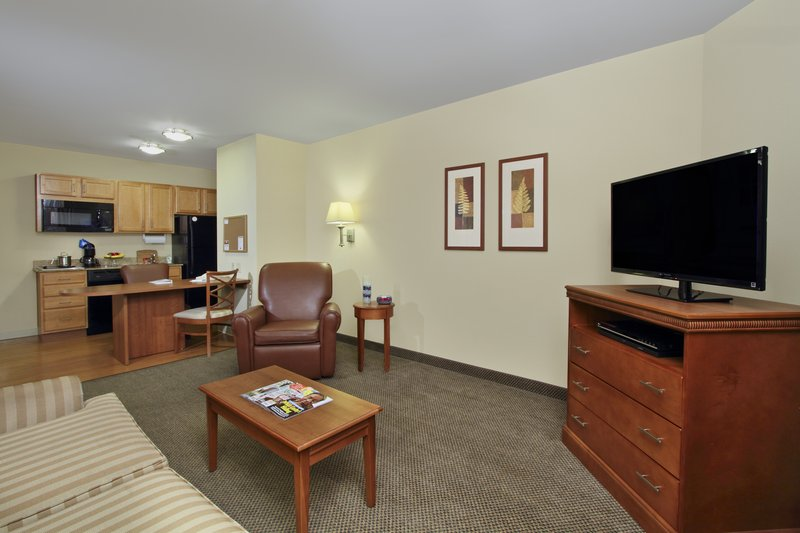 Candlewood Suites Norfolk Airport-Living Area for King Suite<br/>Image from Leonardo