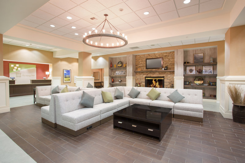 Holiday Inn Colorado Springs Airport-Colorado Springs Airport - Relax in our newly renovated lobby<br/>Image from Leonardo