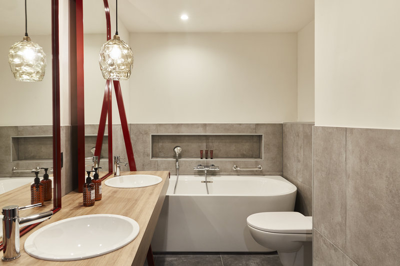Hotel Indigo Antwerp - City Centre-Guest Bathroom<br/>Image from Leonardo