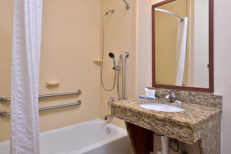 Candlewood Suites Abilene-Guest Bathroom<br/>Image from Leonardo