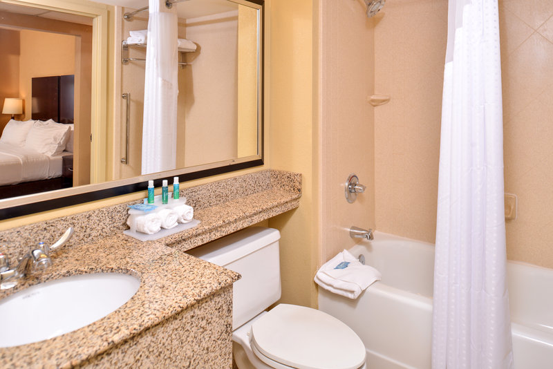 Holiday Inn Express & Suites Buffalo Downtown-Guest Bathroom<br/>Image from Leonardo