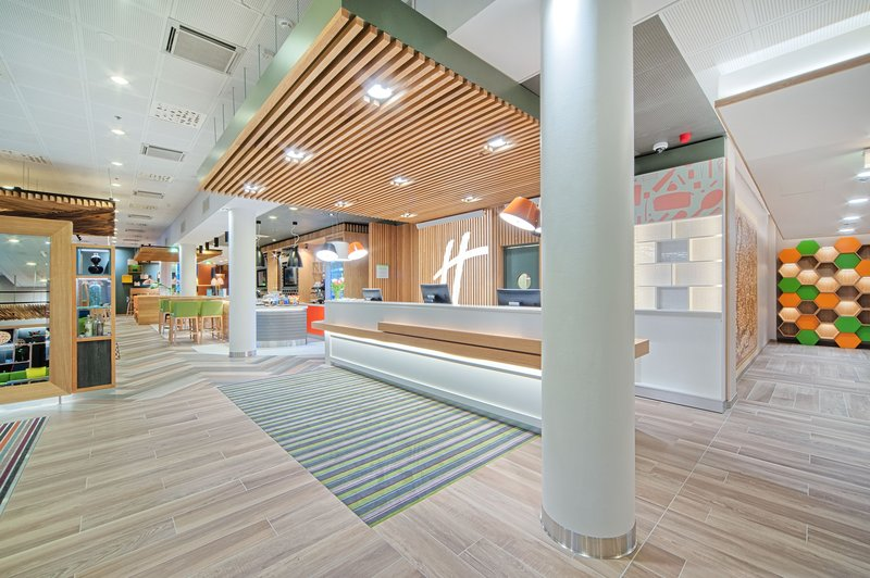 Holiday Inn Helsinki - West -Ruoholahti-New Open Lobby allows easy transition in our hotel<br/>Image from Leonardo