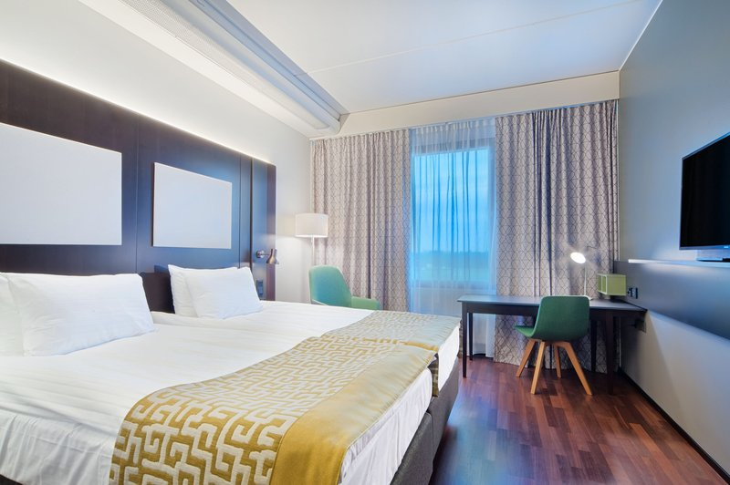 Holiday Inn Helsinki - West -Ruoholahti-A good night's sleep is guaranteed in our new Standard room<br/>Image from Leonardo