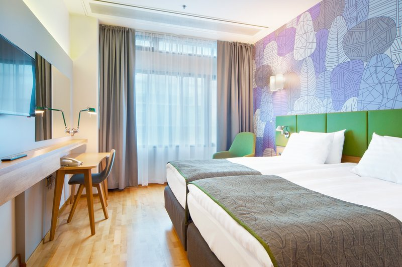 Holiday Inn Helsinki City Centre-Our Scandinavian style guest rooms come with wooden floor<br/>Image from Leonardo
