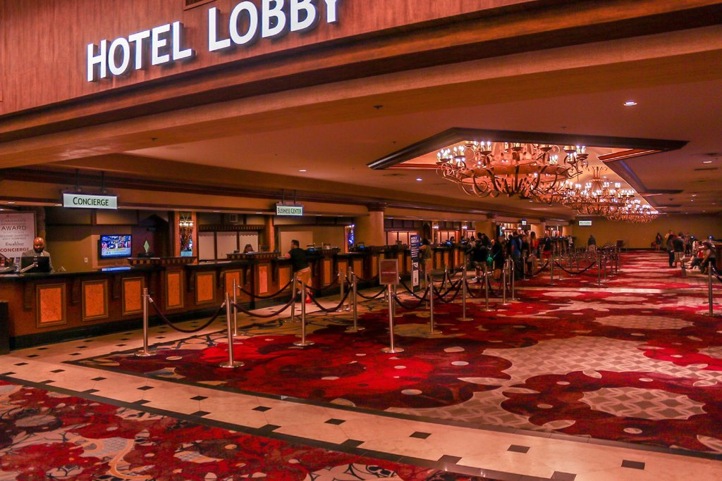 Excalibur Hotel and Casino - Excalibur Lobby <br/>Image from Leonardo