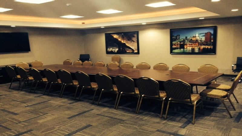 Holiday Inn L.I. City-Manhattan View-The Astoria Meeting Room is designed  for corporate meetings.<br/>Image from Leonardo